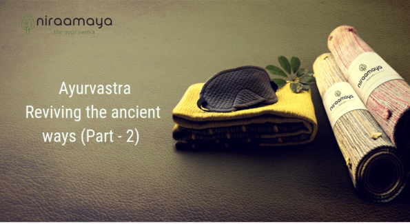 Ayurvastra uses organic dyes to make organic clothes or herbal clothes. They are also a form of ethical clothing